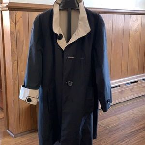 Anne Klein reversible rain coat / jacket